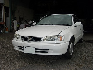 自動車 羽島 市 岐阜 県 八神自動車  中古車 トヨタ カローラ F5速MT 1.300CC 2WD